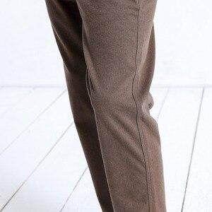 Image 4 - Simwood marca calças casuais dos homens nova primavera magro ajuste moda calças masculinas plus size tornozelo comprimento calças de alta qualidade 180402