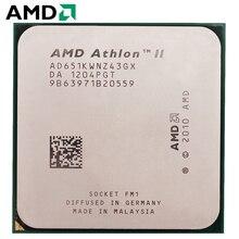 AMD Athlon II X4 651 гнездо FM1 100 Вт 3,0 ГГц 905-pin четырехъядерный процессор для настольных ПК X4 651 гнездо FM1