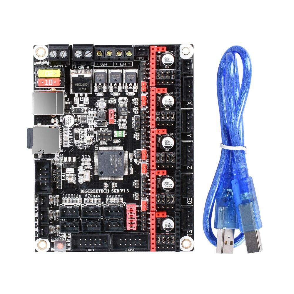 BIGTREETECH SKR V1.3 carte lisse 32 bits + TFT35 V1.2 écran tactile + BLtouch + TMC2130 spi TMC2208 pièces d'imprimante 3D Reprap MKS GEN L - 4