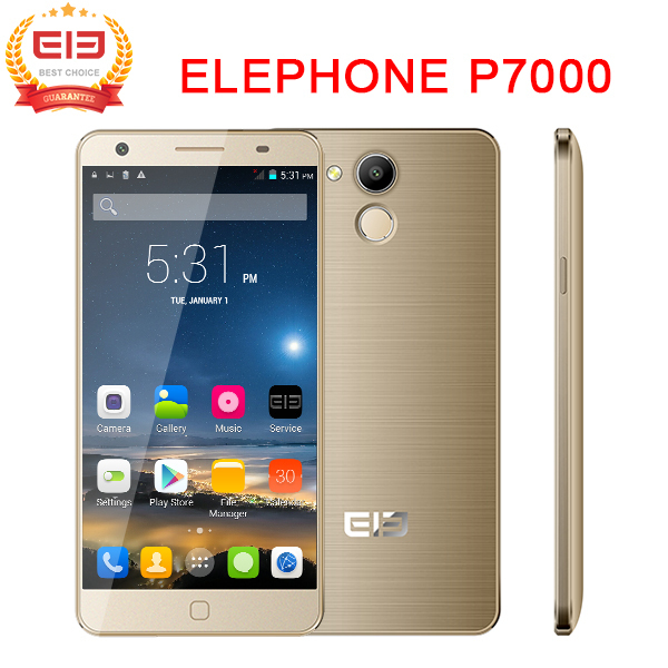 5.5'' FHD Elephone P7000 4G LTE Smart cell phone Android 5.0 MTK6752 64bit Octa Core 3GB/16GB Multi Language 13MP  free gift