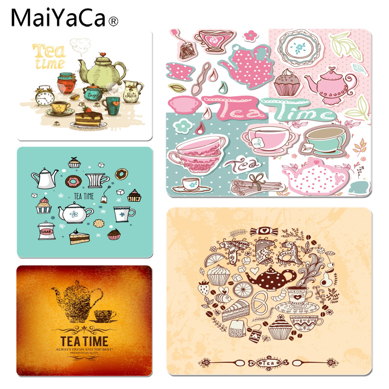 MaiYaCa We Love Tea Time High Speed New Mousepad Size for 25X29cm Gaming Mousepads