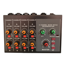 Free Shipping Top Quality Professional Switchable Stereo 4 Channel Mono 8 Channels JOSEPH MIX428 Microphone Audio Mixer Console