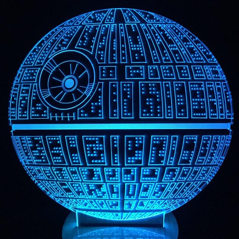 Death Star 3d Lamp Reviews - Online Shopping Death Star 3d ...