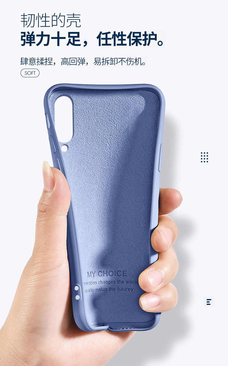 Для samsung Galaxy A50 A30 A10 A20 A40 A70 S8 S9 S10 плюс S10E чехол мягкий жидкий силиконовый чехол-накладка на заднюю панель с рисунком для samsung m10 m20 m30