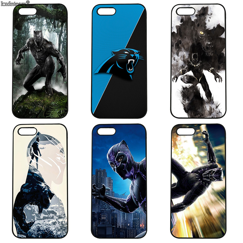 Black Panther Captian American Mobile Phone Case Hard PC Cover for iphone 8 7 6 6S Plus X 5S 5C 5 SE 4 4S iPod Touch 4 5 6 Shell