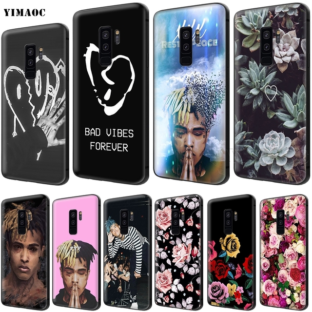 YIMAOC XXXTentacion Soft Silicone Case for Samsung Galaxy S6 S7 Edge S8 S9 Plus A3 A5 A6 Note 8 9