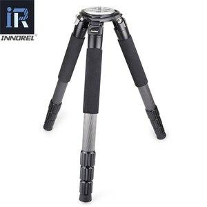 Image 2 - INNOREL RT90C profesyonel ağır kamera tripodu Ultra kararlı üst düzey kuş gözlemciliği kamera standı 40mm bacak tüpü Max yük 40kg