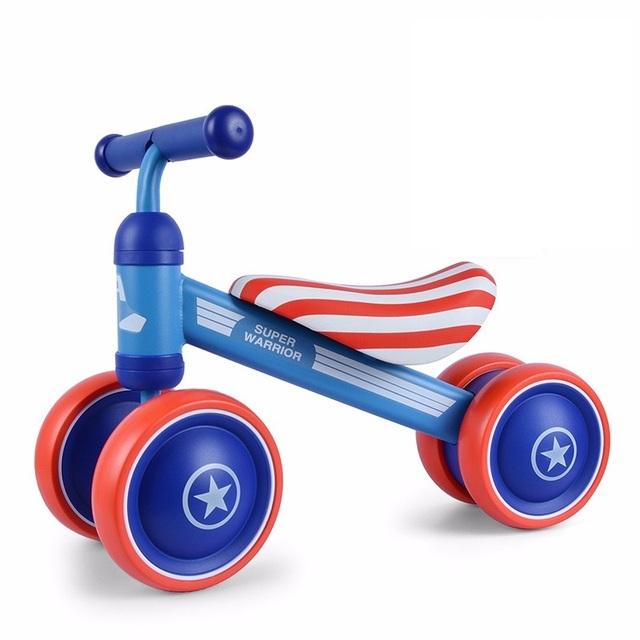 Baby first bike child balance bikes scooter baby walker Infant mini bike cycling no foot pedal driving D-bike kids motorbike