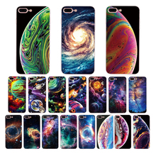 Soft case Gradient Starry Sky Stars Planet for iphone 5 6 6s 7 8 plus phone cover xr x xs max shell 5s se silicone Coque Funda стоимость