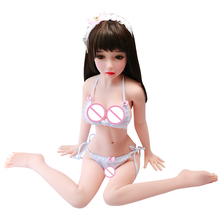 100cm Real silicone sex dolls for men skeleton adult mini love dolls lifelike vagina pussy big breast Japanese realistic doll real tpe silicone sex dolls 148cm skeleton adult japanese love doll vagina lifelike pussy realistic sexy doll for men big breast