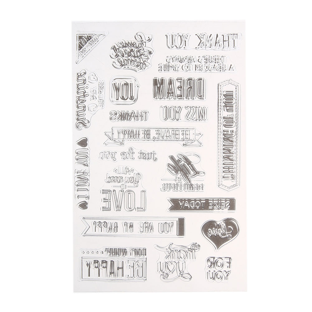 Parts & Accessories Inventive New Transparent Silicone Clear Rubber Stamp Scrapbooking Diy Cute Pattern Photo Album Paper Card Decor Bathing Girl Stamp