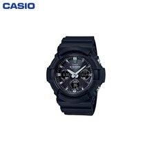 Наручные часы Casio GAW-100B-1A мужские кварцевые на пластиковом ремешке
