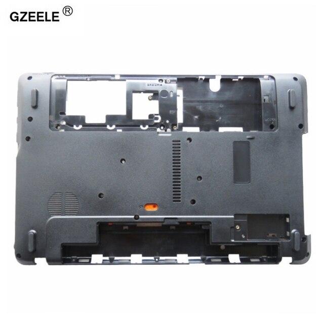 GZEELE nowy laptop dolna podstawa skrzynki pokrywa dla Acer Aspire E1 571 E1 571G E1 521 E1 531 E1 531G E1 521G NV55 AP0HJ000A00 dolna