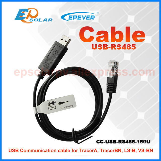 USB cable  for computer use to connect the  solar charger controller home use