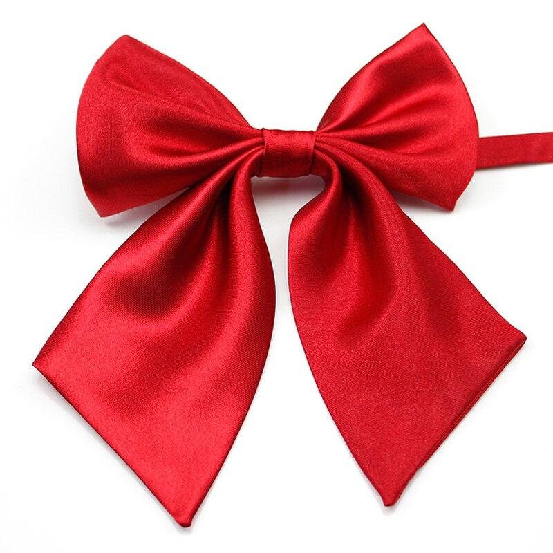 Frau Mädchen Mode Trendy Klassische Zubehör Dekorative Party Bankett Feste Hosenträger Krawatte Kreuz Fliege Bowknot Krawatte