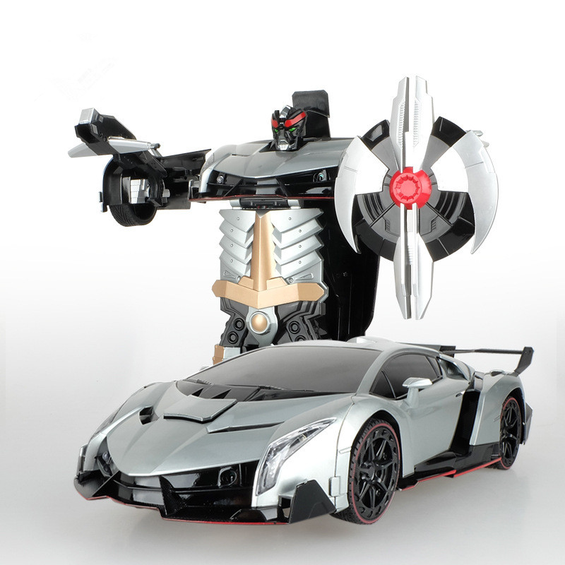 New Kids Toys 33cm Big size 2 4G Veneno Transformer Robot Transformer leader newest design controller