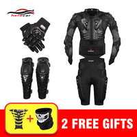 New Motocross Racing Motorcycle Body Armor Moto Protective Gear Motorcycle Jacket Shorts Pants Protection Knee Pads