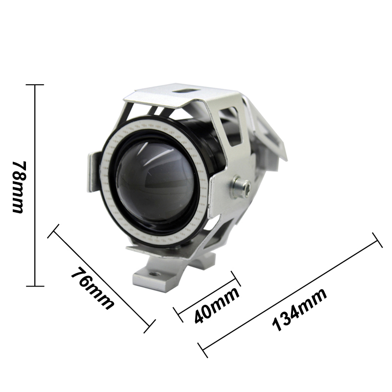 2 шт. / Лот SUNKIA з вимикачем Cree Chip Silver U7 LED - Автомобільні фари - фото 2