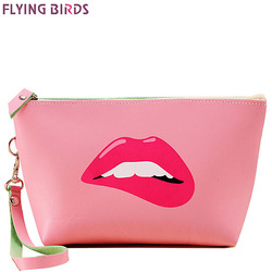 Flying birds women cosmetic bags makeup bag cosmetic case summer dumpling large clutch women packages waterproof.jpg 250x250