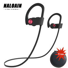 Bluetooth Headset Sport IPX7 Waterproof Bass Wireless Earphone Stereo Neckband Headphone With Mic Hands Free For Smartphone(China)