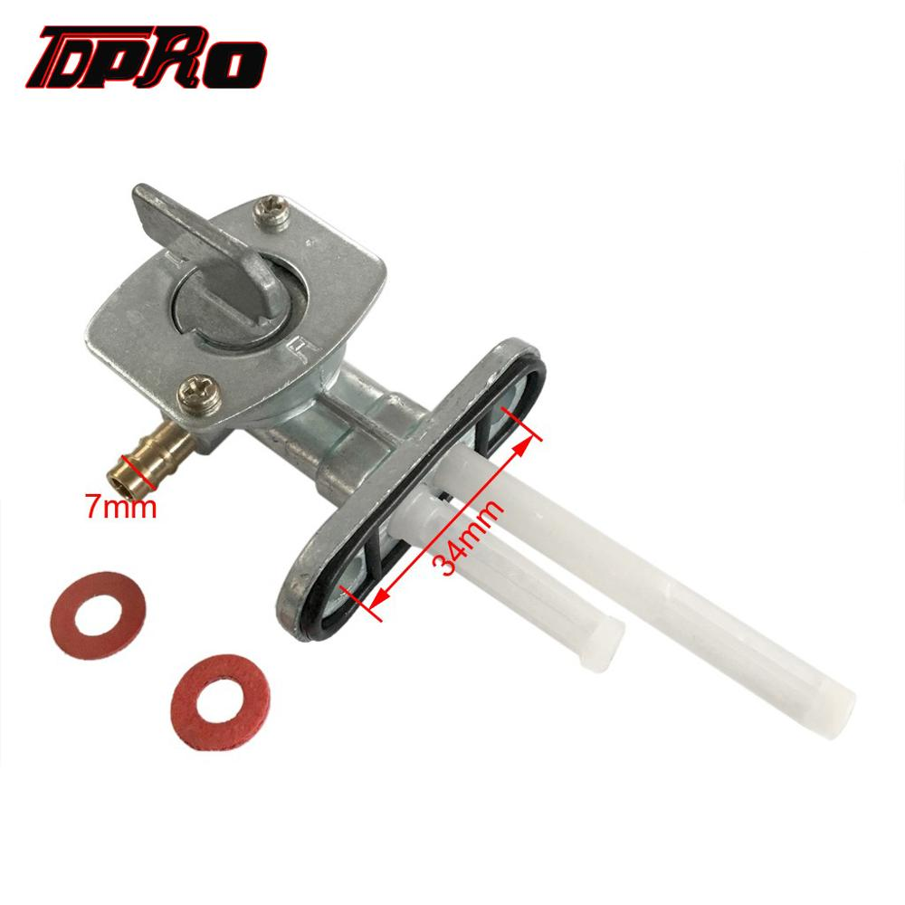 TDPRO New Motorcycle Gas Fuel Tank Tap Switch Valve Petcocke For Yamaha PW80 TTR125 DRZ400 50cc 90cc 110cc 125cc Pit Dirt Bike in Fuel Tank from Automobiles Motorcycles