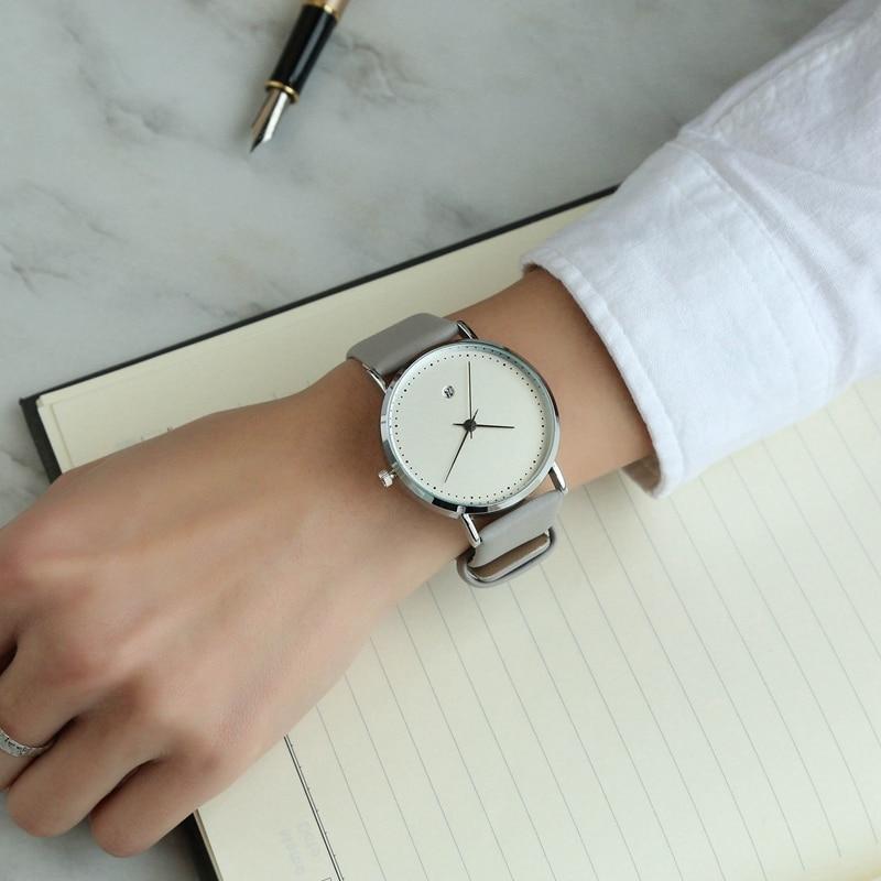 HOREDAR High Quality Quartz Watch Auto Calendar Leather Watches Women 2017 Luxury Top Brand Wristwatch Waterproof Clock