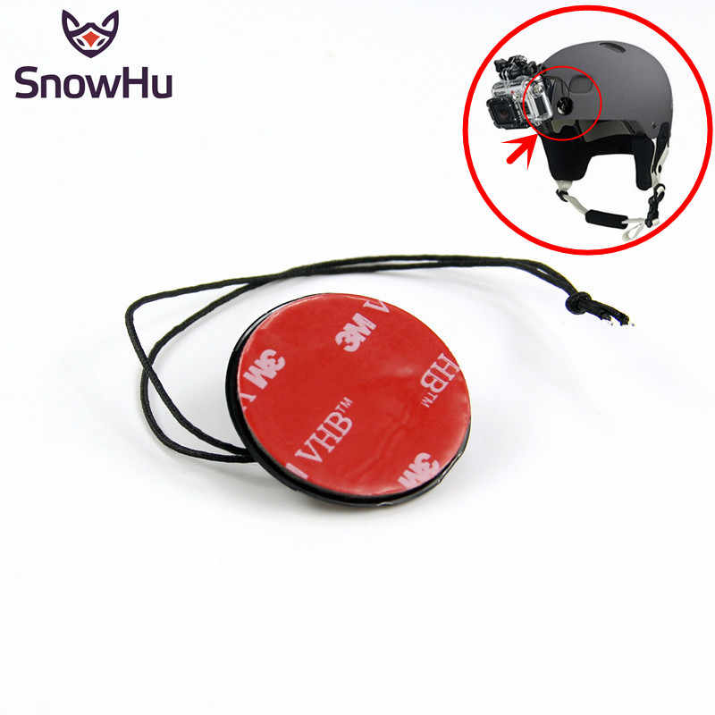 SnowHu for GoPro accessories Safety Insurance Tether Straps With Sticker Mounting Kit For GoPro Hero 7 6 5 4 3+ Xiaomi Yi GP21