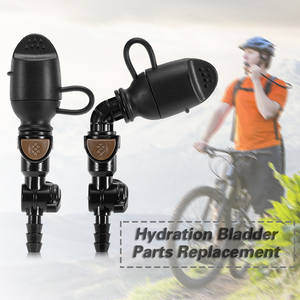 Image 5 - Hydration Bladder Bait Valve Hydration Pack Suction Valve Nozzle Bladder Hose Replacement Tube Clip Hydration Bladder Accessory