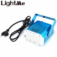 High Brightness Mini US Plug 10W 36 LED SMD 5050 RGB Strobe Light with Sound Auto Control Mode For Home Entertainment And Bars
