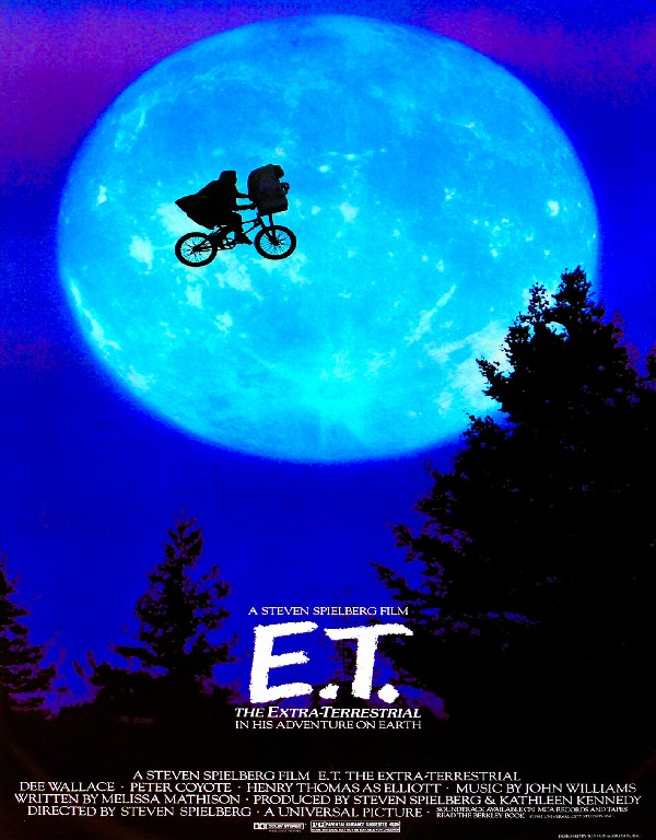 Diy Frame E T The Extra Terrestrial Movie Posters And