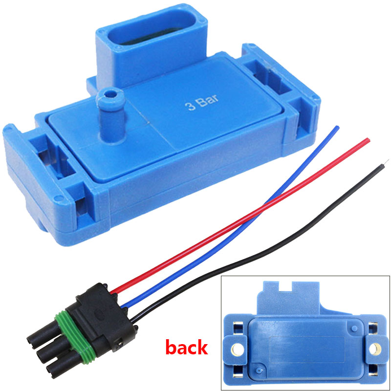 US $9.63 42% OFF|Promotion NEW For GM STYLE 3BAR 3 BAR MAP Sensor For on 1 bar map sensor, 3 bar quarter horse, 2 bar map sensor, 5 bar map sensor, 4 bar map sensor,