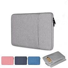 Quente notebook bolsa para portátil para macbook ar pro retina 11 12 13 15 capa para kindle ipad mini xiaomi lenovo 9.7 14 15.6 luva caso