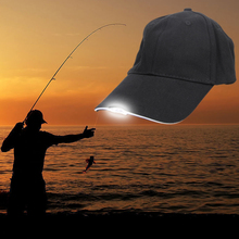 Super Bright Glow in Dark Reading Fishing Jogging Light Up 5 LED Sport Hat 2 Modes Baseball Caps Luminous Holiday Hat for Unisex