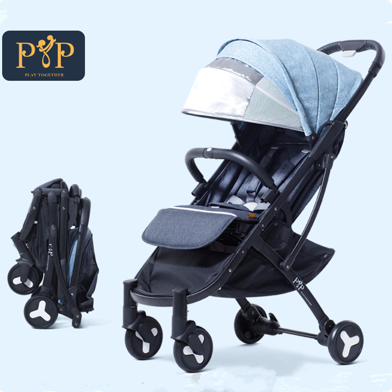 Kidstravel Light Baby Stroller for Dolls Foldable Portable Baby Carriages For Newborns Pushchairs kidstravel luxury baby stroller for baby foldable portable baby carriages for newborns pram pushchair
