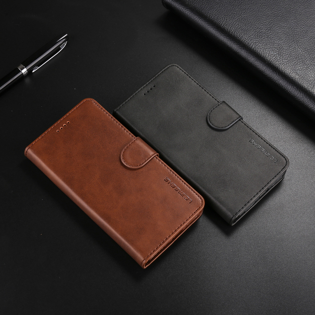 Flip Leather Case For Samsung Galaxy S8 S9 S10 E Plus Note10 Pro S7 A 10 20 40 50 60 70 80 90 M 10 20 8