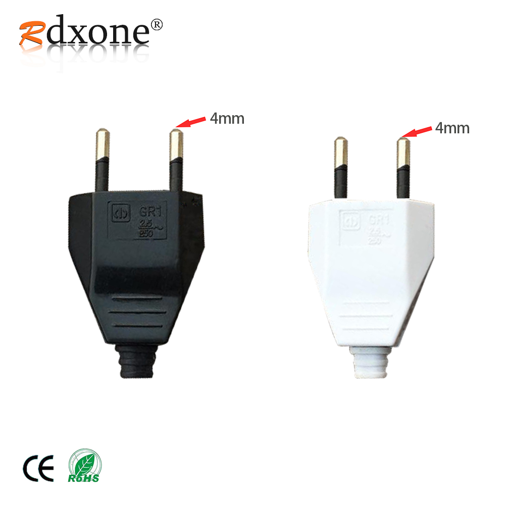 2pc FEMALE Extension Cord Electrical Wire Repair Replacement Plug End