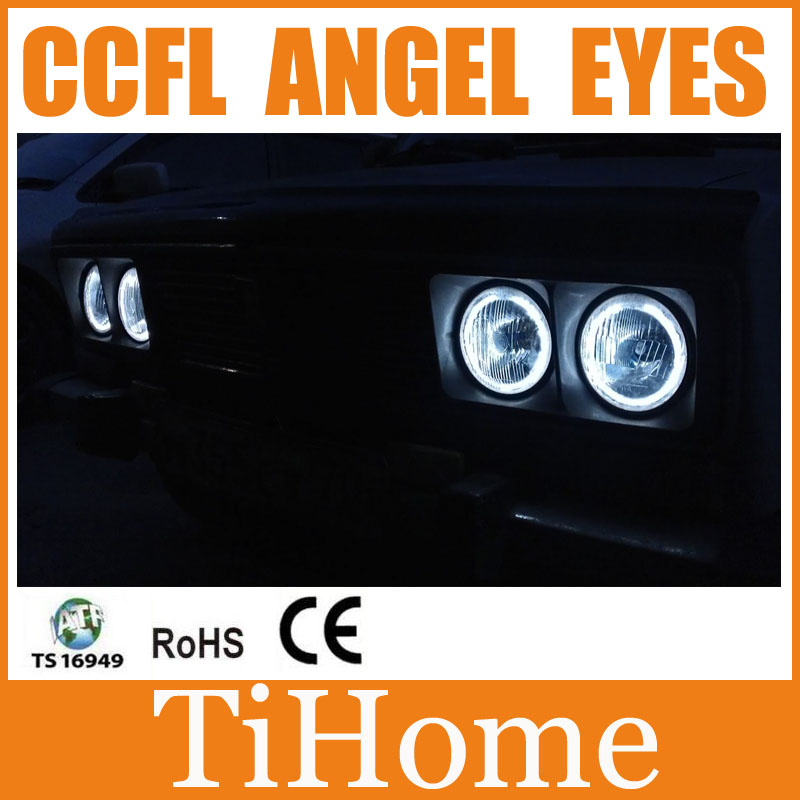 Hot selling ! Free Shipping to Russia VAZ LADA 2103 CCFL ANGEL EYES RINGS WHITE OR BLUE,LADA 2103 CCFL CAR EYES RINGS
