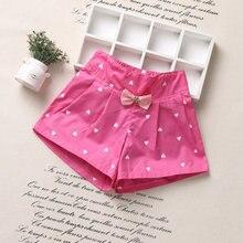Kids Summer Shorts Flower-Girls Princess Pants Clothing Children Bow for Fashion