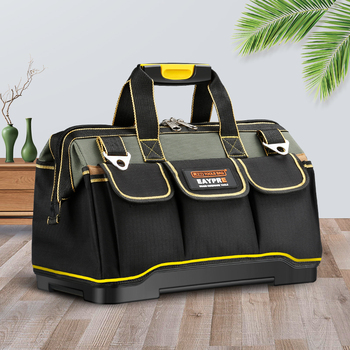 New 2019  Tool bags 13″ 16″18 20″1680 D Oxford Cloth  bag Top Wide Mouth Electrician bags
