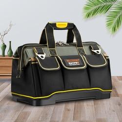 Nuevo 2019 bolsas de herramientas 13 16 18 20 1680 D Oxford bolsa de tela superior de boca ancha electricista bolsas