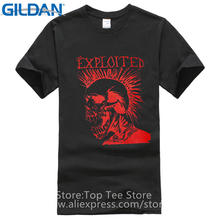 Movie T Shirts  MenS Creative Graphic The Exploited Let Start A War O-Neck Short New Style Tee Shirt
