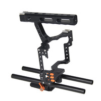 Professional DSLR Camera Cage Kit Film Maker Video Equipment Accessories for Panasonic GH4 for Sony A7S/A7/A7R/A7RII/A7SII
