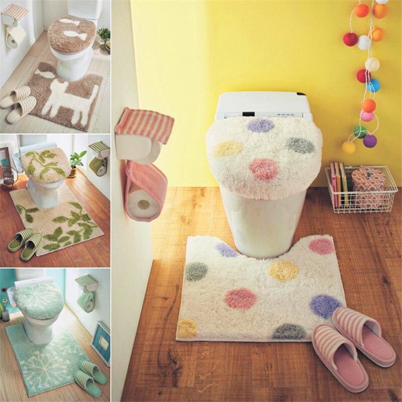 일본 벨 메종 원래 단일 유니버설 고품질 변기 커버 화장실 뚜껑 귀여운 화장실 반지 욕실 매트-에서화장실 시트 커버부터 홈 & 가든 의  그룹 1