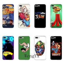 WengYX cartoon Earthworm Jim Slim silicone Soft phone case For Samsung Galaxy S3 S4 S5 S6 S7 edge S8 S9 Plus mini Note 3 4 5 8