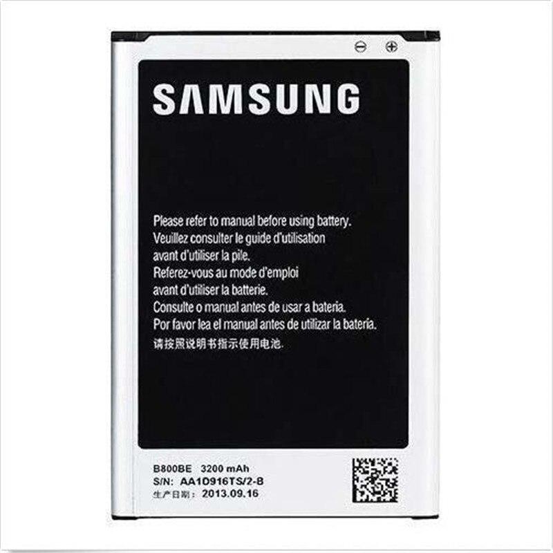 100% Original Samsung Galaxy Note 3 III 3200 mAh Battery for Galaxy GT-N9000 N9005 B800BC B800BE N900A/P/T/V NFC function