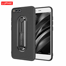 LUPHIE Carbon Fiber Case 360 Full Shockproof Mobile Phone for Xiaomi Redmi Note 6 Mi6 5X 5A Prime 3 Armor Cover