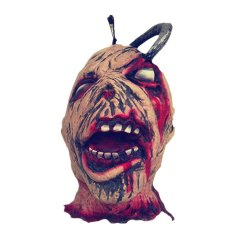 x merry toy halloween decoration and prop rubber horror scary human head scary props zombie - Scary Props