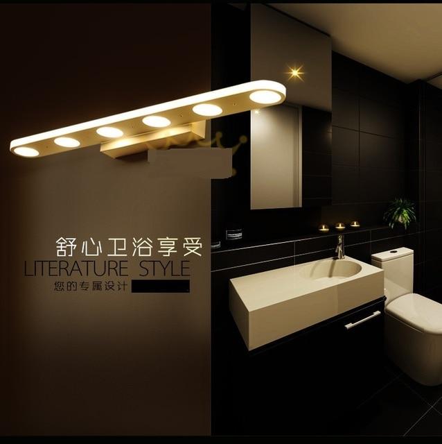 Spiegel lichten LED badkamer spiegel lamp wandlamp moderne ...