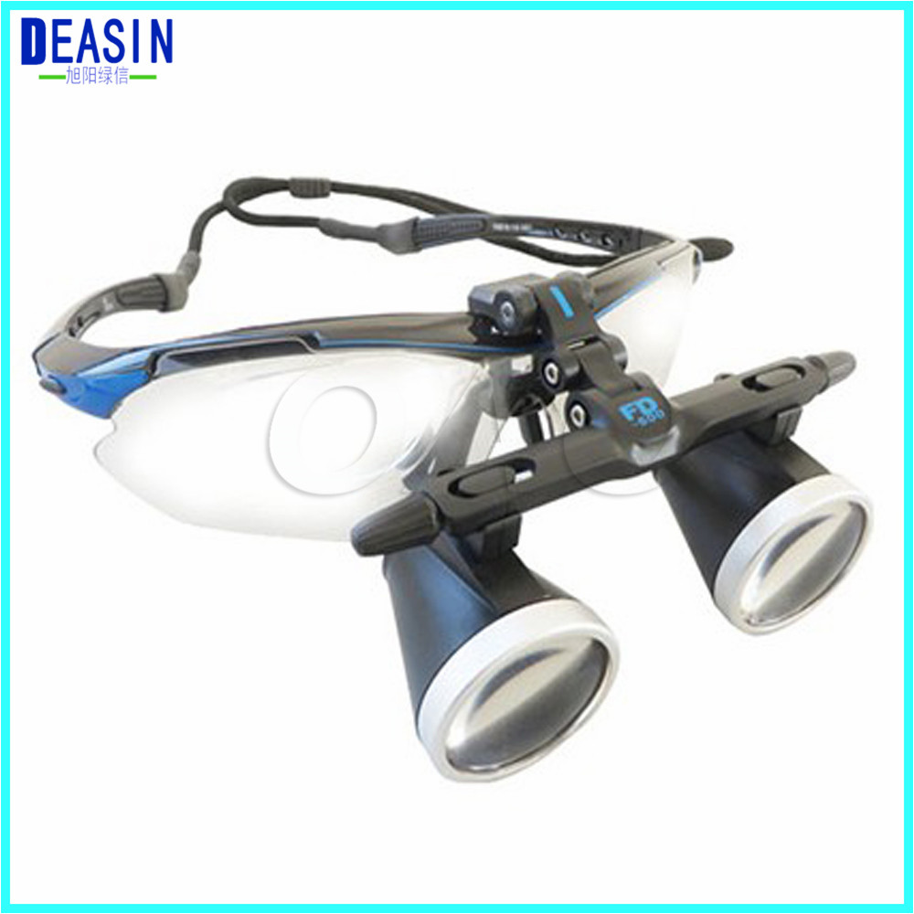 High Quality Ultra-Light 2.0X 2.5X 3.0X Medical magnifying glass Surgical loupes Dental Loupes medical loupes head loupes цена