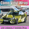 Camo Car Styling Truck Body Rearview Mirror Decal Camoufalge Vinyl Film Wrap Air Bubble PVC Stickers